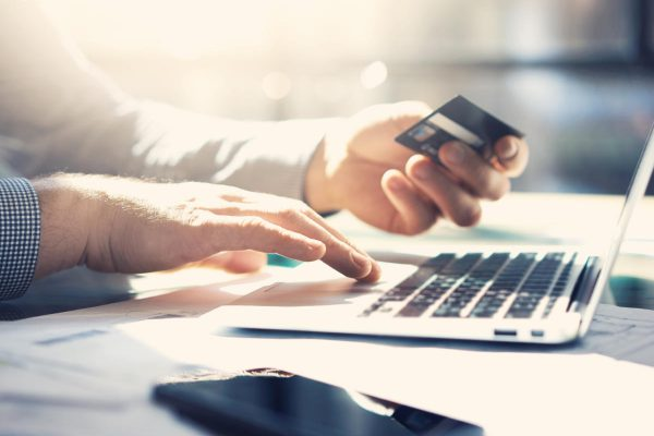 credit card and online payments