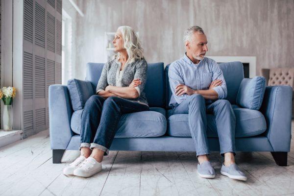Gray Divorce Couple