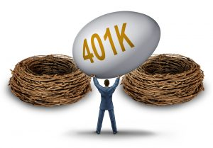 Divorce and 401k